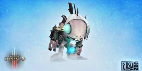Brindes do Ticket Virtual da BlizzCon